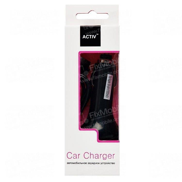 Автомобильное зарядное устройство Activ для Apple iPhone 4S 1A